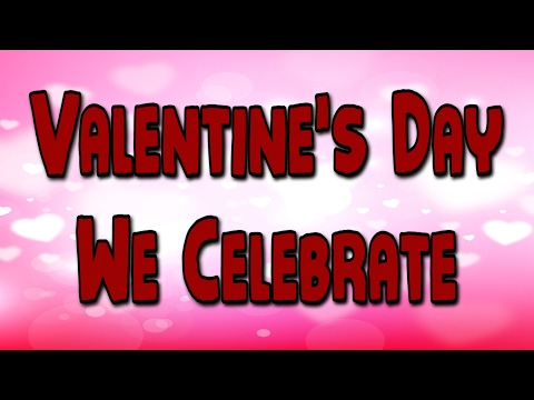 Valentine's Day Song | Valentine's Day We Celebrate | Holiday Song | Jack Hartmann