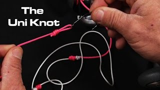 The Only Fishing Knot You Need | The Uni Knot | Saltwater Experience