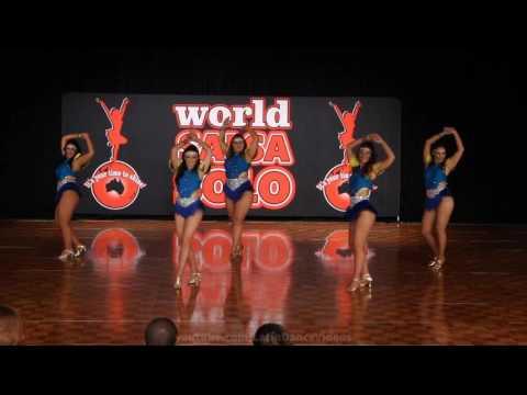 WSS & BLDF 2016 Amateur Mixed Latin Shines Team Danca Brazil