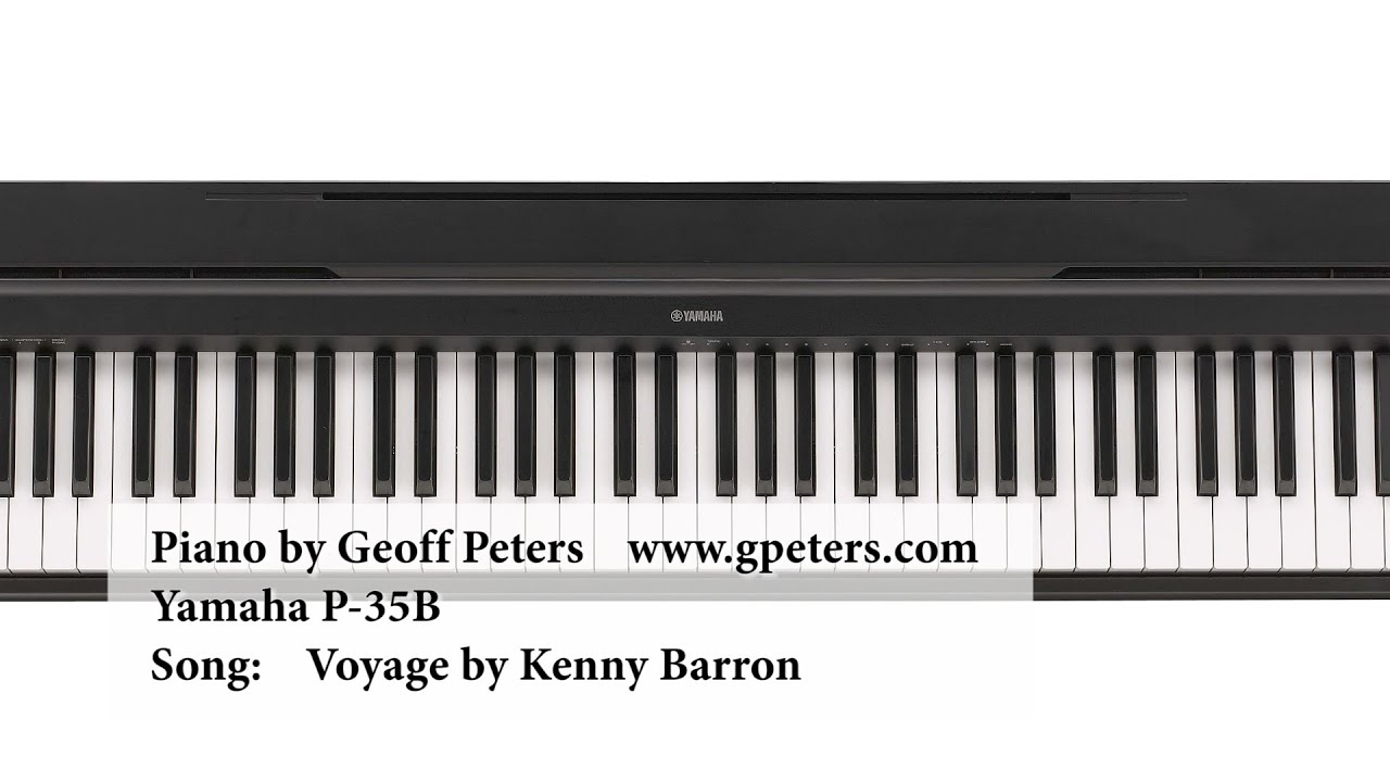 yamaha p 35 jazz piano demo by geoff peters yamaha p 35b. Black Bedroom Furniture Sets. Home Design Ideas