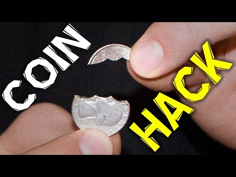 LIFE HACK WITH COINS   Collins Key