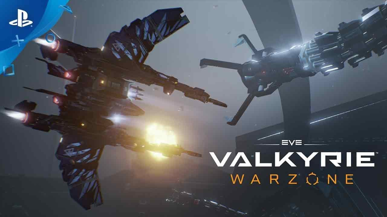 Eve Valkyrie Warzone Launch Trailer Ps4 Ps Vr Youtube