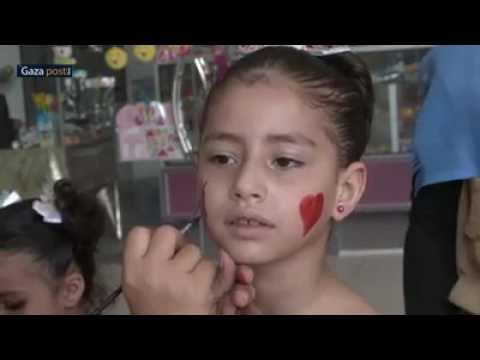 تقرير Gaza post عن مركز الارادة في فعاليات عيد الفطر في مدينة ستارز سنتر