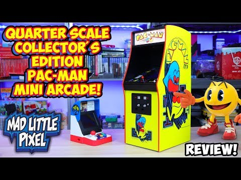 Quarter Scale Pac-Man Arcade Collector's Edition Review - Numskull
