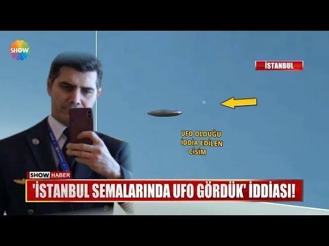 """""""İstanbul Semalarında UFO Gördük"""" Iddiası!"""