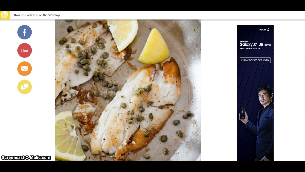 New 2017  How To Cook Fish On The Stovetop