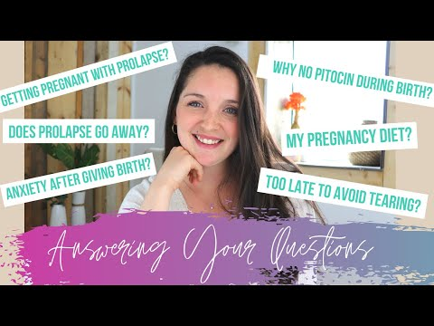 Pregnancy, Prolapse, and Birth Q&A! Answering Your Personal Questions