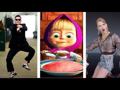 En Çok İzlenen 10 Youtube Videosu