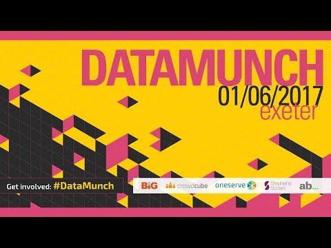 #DataMunch: Chris Shadrick from AB...