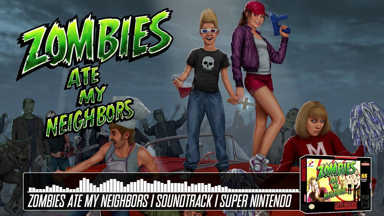 Zombies Ate My Neighbors Music SNES - Titanic Toddler ...