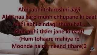 abhi abhi jism2 karaoke by Paras Bulani