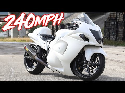 240MPH Nitrous Hayabusa Top Speed Runs! - GTR & Lambo Killer?!