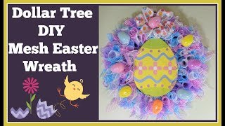 Dollar Tree Diy Easter Wreath 🌸