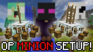 How to BUILD the BEST MOB MINION Setup!   Hypixel Skyblock