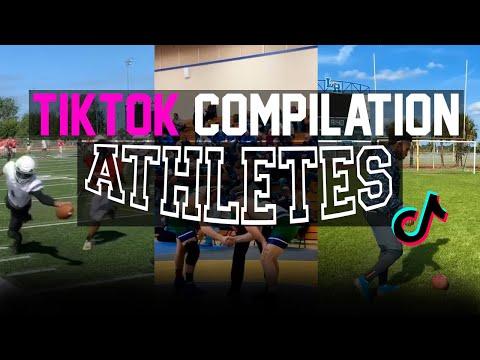 Tik Tok Compilation   ATHLETES V4