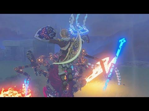 One-Hit Obliterator Vs Calamity Ganon! Zelda Breath of the Wild