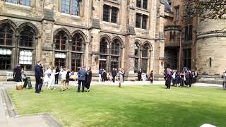 The Quad at the University of Glasgow