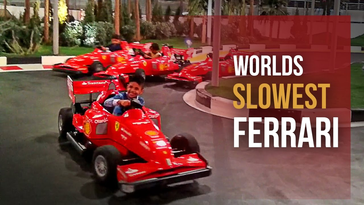 Grand Prix Driving School >> Junior Grand Prix - Kids slow racing scaled down Ferrari ...