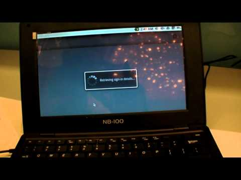 ARM11 Telechips Android Laptop