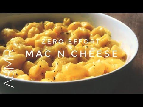 ASMR Cooking – Zero Effort Mac and Cheese!!! (quick weeknight vegan dinner w/ rice cooker)
