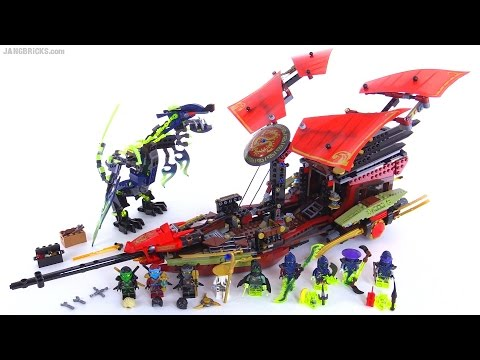Lego Ninjago Final Flight Of Destiny's Bounty Review! Set