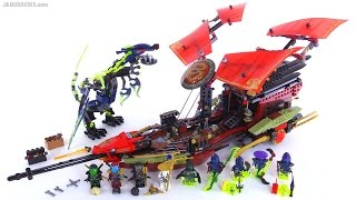 LEGO Ninjago Final Flight of Destiny's Bounty review! set 70738