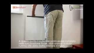 Come installare il riscaldamento elettrico a parete - Radiatore infrarossi PLANO by Radialight