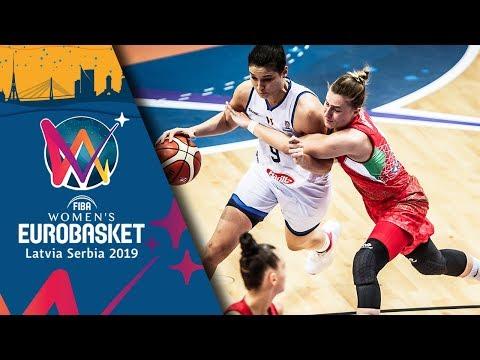 Italy v Hungary - Highlights - FIBA Women's EuroBasket 2019