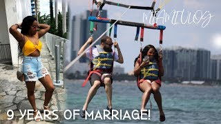 TRAVEL WITH ME | MIAMI BEACH ANNIVERSARY BAECATION VLOG PART 1