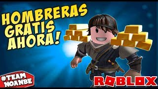 FREE shoulder pads WITHOUT ROBUX (Better than Roblox Events in Spanish)