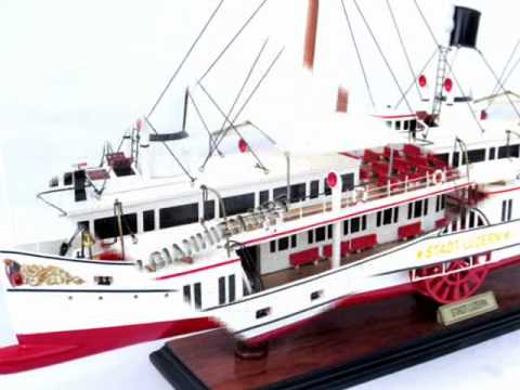 PADDLE STEAM SHIP STADT LUZERN - GIA NHIEN VIETNAM BOAT BUILDER