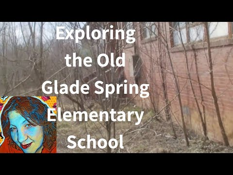 The Old Glade Elementary School In Glade Spring, Virginia