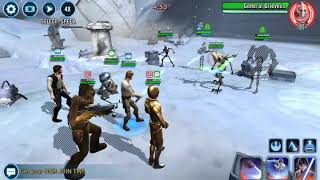 R2 subs for Thrawn and Rebels remove General Grievous droids SWGOH squad arena