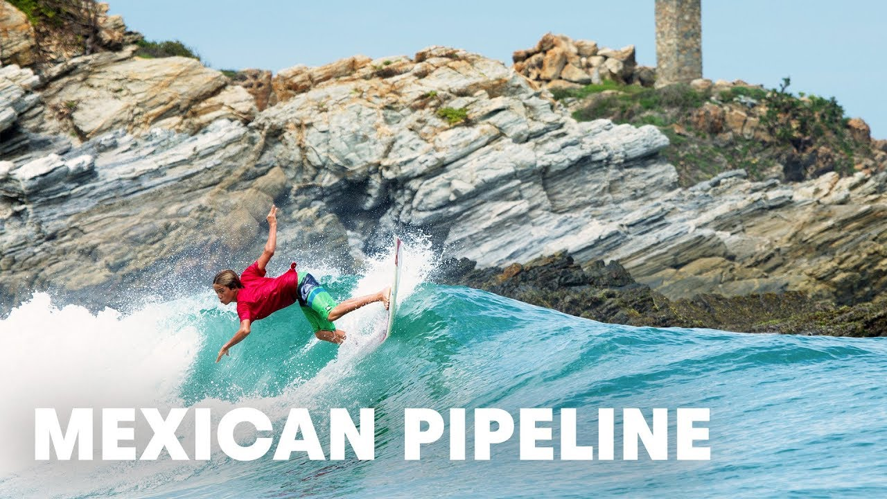 This is why it's called the Mexican Pipeline...