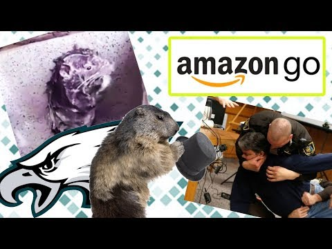 SHOWER RAT, GROUNDHOG DAY, AND IS AMAZON GO RACIST? | The BS On The INTERNET