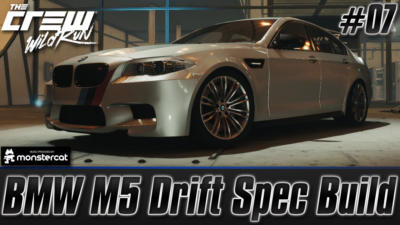 The Crew Wild Run BMW M5 Drift Spec Build Customization  Test