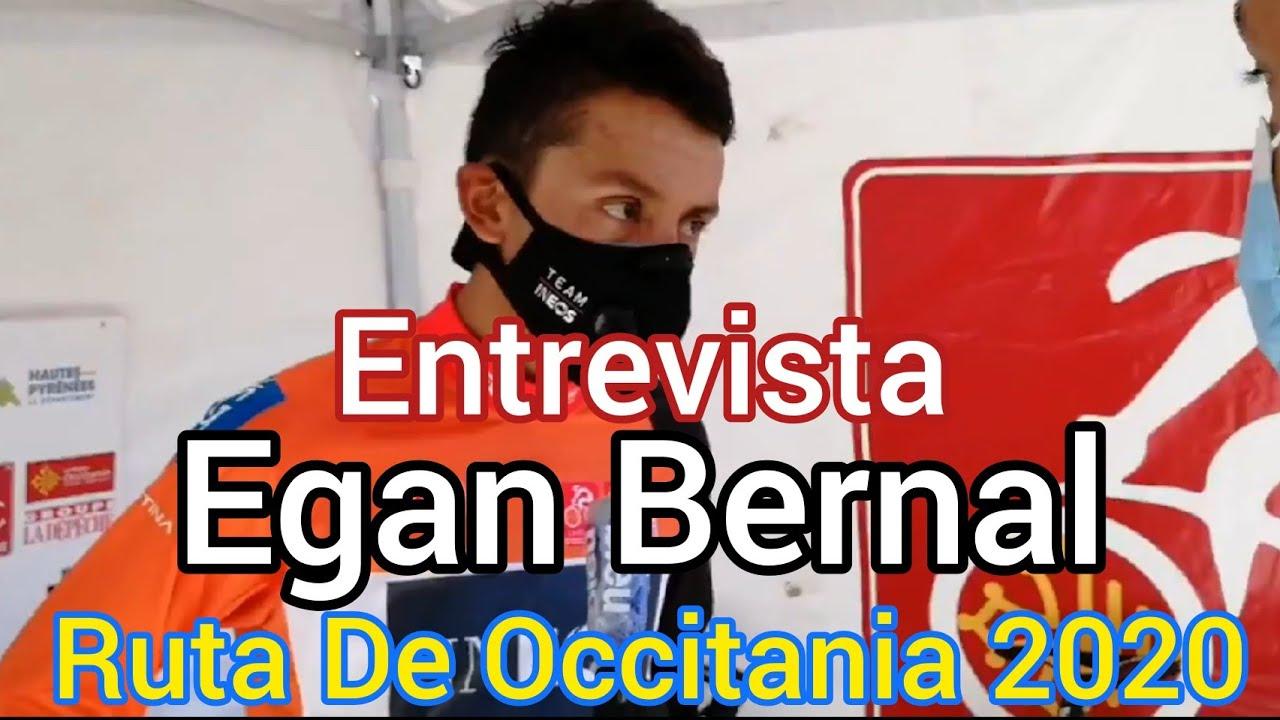 Entrevista Egan Bernal Ganador Ruta De Occitania 2020 Youtube