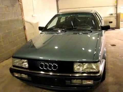 detailing.Audi coupe quattro typ85 detailed