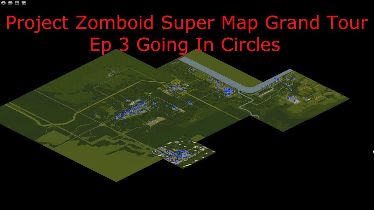 Project Zomboid Area Map Exploring Mars