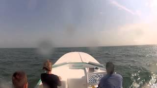 GoPro Hero 2 Angle Mount - Cape Cod Cigarette Boat Jump