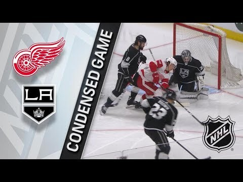 Detroit Red Wings vs Los Angeles Kings – Mar. 15, 2018 | Game Highlights | NHL 2017/18. Обзор