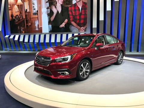 2018 Subaru Legacy – Redline: First Look – 2017 Chicago Auto Show