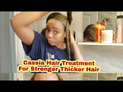 How To Do A Cassia Obovata Hair Treatment| For Thicker Stronger Hair