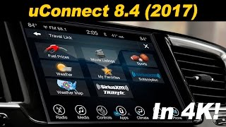 2017 Chrysler uConnect 8.4 Infotainment Review  - In 4K!