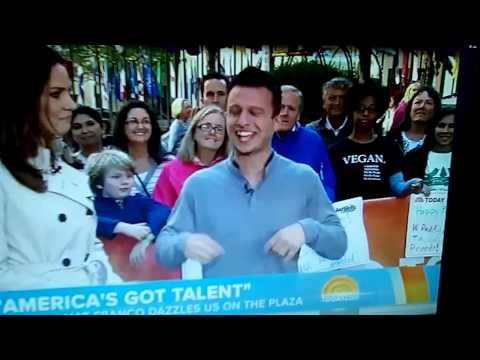 NBC Today Show Magic VEGAN (Americans Got Talent Magician David Copperfield Las Vegas Al Funny Cook
