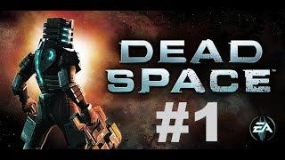 Dead Space - прохождение на XboxOne #1 (глава 1,2) Hard сложность #DeadSpace