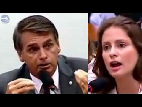 ➜ FEMINISTÅ tenta ATACᗅR Bolsonaro e passa vergonha