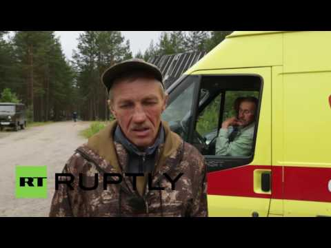 Russia: Bodies recovered during search after Karelia lake tragedy