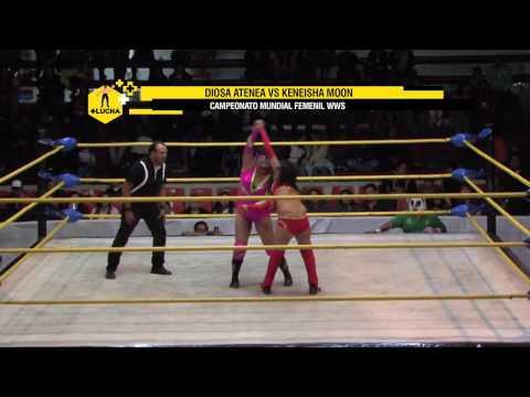 Diosa Atenea vs Keneisha Moon, Campeonato Mundial WWS