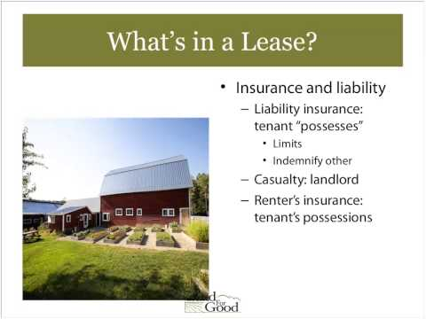 Webinar: Nuts and Bolts of Farmland Leasing